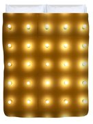 Theater Lights In Rows Duvet Cover