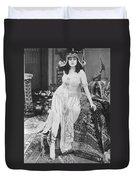 Theda Bara (1885-1955) Duvet Cover