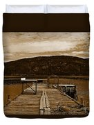 They Were Here Duvet Cover
