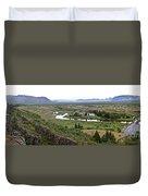 Thingvellir Valley Duvet Cover