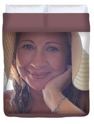 This Smile Was For You Duvet Cover