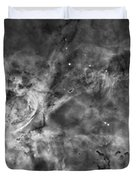 This View Of The Carina Nebula Duvet Cover