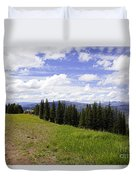 This Way To Eagle Nest - Vail Duvet Cover