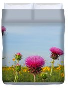 Thistle And Sunflower 2am-110468 Duvet Cover