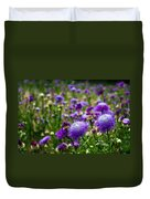Thistle Field Duvet Cover