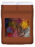Thistle Lanterns Duvet Cover