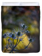 Thistles Abstract Duvet Cover