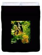 Thoas Swallowtail #1 Duvet Cover
