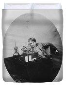 Thomas Edison, American Inventor Duvet Cover