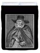 Thomas Hobson (1544-1631) Duvet Cover