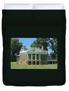 Thomas Jeffersons Poplar Forest Duvet Cover