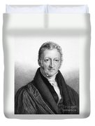 Thomas Robert Malthus Duvet Cover