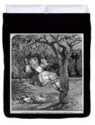 Thomas: The Swing, 1864 Duvet Cover