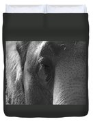 Thoughts Of The Elephant Duvet Cover
