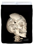 Three-dimensional Ct Reconstruction Duvet Cover