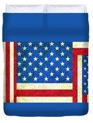 Three Flags Duvet Cover