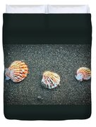 Three Sea Shells Duvet Cover