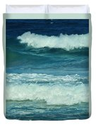 Three Waves Duvet Cover