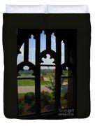 Through The Chapel Arches Duvet Cover