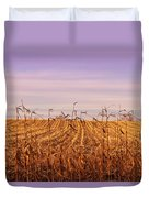 Through The Cornfield Duvet Cover