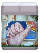 Thumbs Up Duvet Cover
