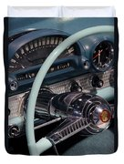 Thunderbird Steering Wheel Duvet Cover