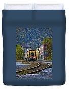 Thurmond Wv Train Duvet Cover