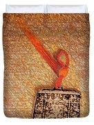 Tibetan Mandala  By Jrr Duvet Cover