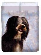 Tibetan Terrier Duvet Cover