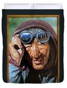 Tibetan Woman Duvet Cover