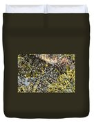 Tidal Pool With Rockweed Duvet Cover