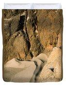 Tide Sculpture Duvet Cover