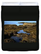 Tidepool In Maine Duvet Cover