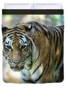 Tiger - Endangered - Wildlife Rescue Duvet Cover