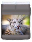Tiger Blur Duvet Cover