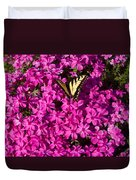 Tiger In The Phlox 5 Duvet Cover