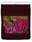 Tiger In The Phlox 6 Duvet Cover
