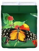 Tiger Longwing Heliconius Hecale Duvet Cover
