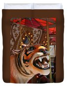 Tiger Merry Go Round Animal Duvet Cover