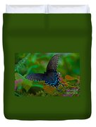 Tiger Swallowtail Butterfly Female Duvet Cover