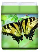 Tiger Swallowtail  Duvet Cover