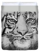 Tiger's Eyes Duvet Cover