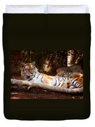 Tigress And Cubs Duvet Cover