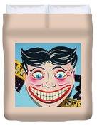 Tillie The Clown Of Coney Island Duvet Cover