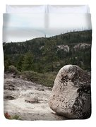 Tilted Rock Duvet Cover