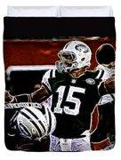 Tim Tebow  -  Ny Jets Quarterback Duvet Cover