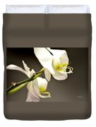 Time To Bloom Duvet Cover