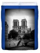 Timeless Notre Dame Duvet Cover
