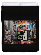 Times Square 7 Duvet Cover