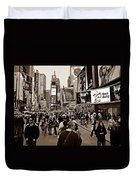 Times Square New York S Duvet Cover